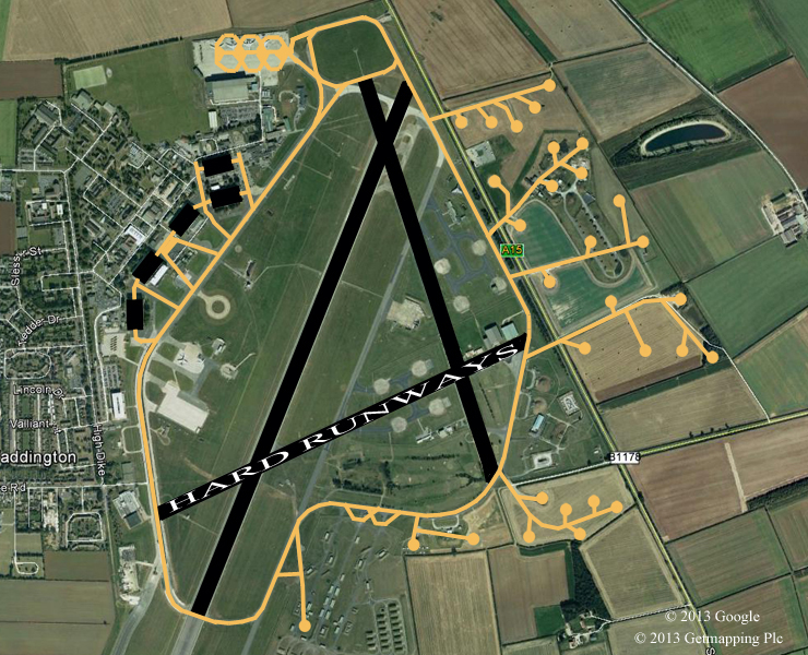 Waddington airfield history bcar raf waddington airfield gumiabroncs Choice Image