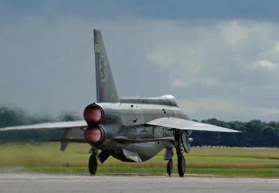 EE Lightning operated by the Lighting Preservation Group at Bruntingthorpe