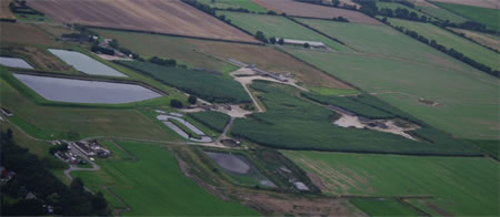 The layout of a typical Thor site, former RAF Caistor