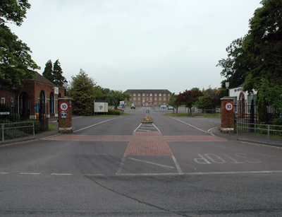 Manby Buisness Park Entrance