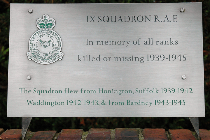 RAF Bardney Memorial