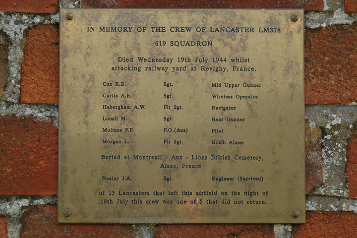 RAF Dunholme Lodge Memorial